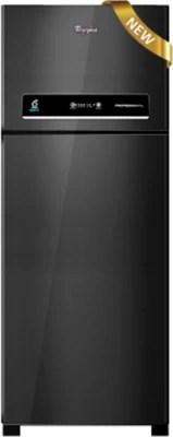 Whirlpool 405 L Frost Free Double Door Refrigerator(PRO 425 ELT 2S, Mirror Black)
