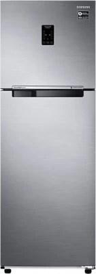 SAMSUNG 321 L Frost Free Double Door Refrigerator(RT34K3753S9/HL, Refined Inox)