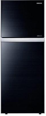 SAMSUNG 415 L Frost Free Double Door Refrigerator(RT42HAUDEGL/TL, Black)