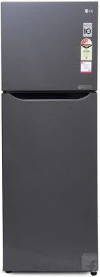 LG 255 L Frost Free Double Door Refrigerator(GL-Q282STNM.DTNZEBN, Titanium)