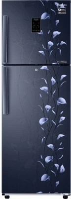 SAMSUNG 272 L Frost Free Double Door Refrigerator(RT30K3983UZ, Tender Lily Blue)