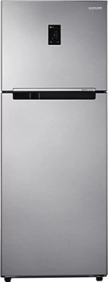 SAMSUNG 415 L Frost Free Double Door Refrigerator(RT42HDAGESL/TL, Real Stainless)