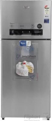 Whirlpool 410 L Frost Free Double Door Refrigerator(PRO 425 ELT 3S, Alpha Steel)