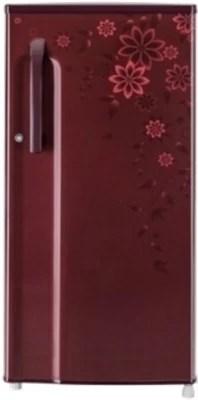 LG 188 L Direct Cool Single Door Refrigerator(GL-B191KCOP, Coral Ornate)