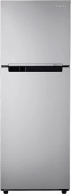 SAMSUNG 253 L Frost Free Double Door Refrigerator(RT28K3022SE/NL, Elective Silver)