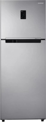 SAMSUNG 415 L Frost Free Double Door Refrigerator(RT42HDAGESL, Real Stainless)