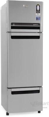 Whirlpool 300 L Frost Free Triple Door Refrigerator(FP 313D PROTTON ROY, Alpha Steel (N), 2016)