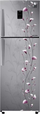 SAMSUNG 318 L Frost Free Double Door Refrigerator(RT34K3983SZ, Tender Lily Silver)