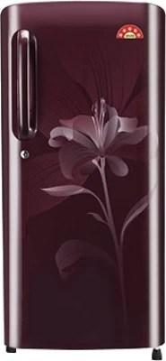LG 235 L Direct Cool Single Door Refrigerator(GL-B241ASLT, Scarlet Lily)
