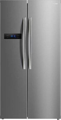 Panasonic 582 L Frost Free Side by Side Refrigerator(NR-BS60MSX1, Stainless Steel, 2016)