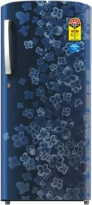 SAMSUNG 192 L Direct Cool Single Door Refrigerator(RR1915TCAPX/TL, Orcherry Pebble Blue)