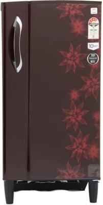 Godrej 185 L Direct Cool Single Door Refrigerator(RD EDGE 185 E3H 4.2, Berry Bloom, 2016)
