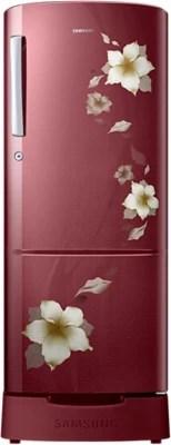 SAMSUNG 212 L Direct Cool Single Door Refrigerator(RR22K287ZR2, Star Flower Red)