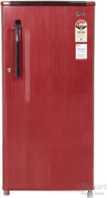 LG 190 L Direct Cool Single Door Refrigerator(GL-205KMG4, Sparkle Red)
