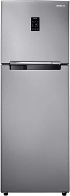 SAMSUNG 345 L Frost Free Double Door Refrigerator(RT36JSRFESL, Easy Clean Steel)