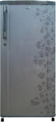 Haier 190 L Direct Cool Single Door Refrigerator(HRD-2105CGB-H, Grey Blossom)
