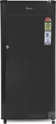 Whirlpool 190 L Direct Cool Single Door Refrigerator(205 GENIUS CLS PLUS 4S, Black Titanium, 2016)