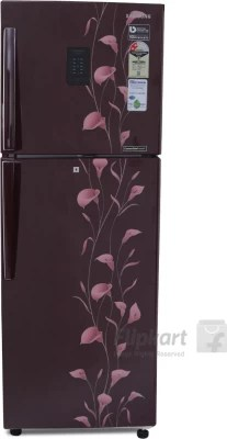 SAMSUNG 253 L Frost Free Double Door Refrigerator(RT28K3922RZ/NL, Tender Lily Red, 2016)