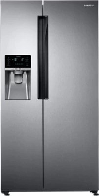 SAMSUNG 654 L Frost Free Side by Side Refrigerator(RS58K6417SL/TL, Clean Steel)