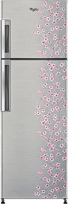 Whirlpool 265 L Frost Free Double Door Refrigerator(NEO FR278 ROY PLUS 2S, Silver Bliss)