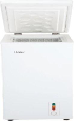 Haier 100 L Direct Cool Deep Freezer Refrigerator(HCF-100HTQ, White, 2016)