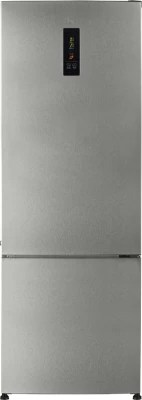 Haier 345 L Frost Free Double Door Refrigerator(HRB-3654PSS-R, Stainless Steel)