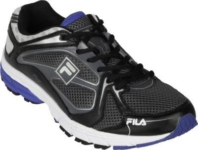 Fila Fly Running Shoes(Black, Grey, Silver)