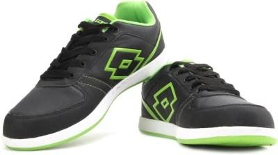 Lotto Logo Plus III Running Shoes(Black, Green)