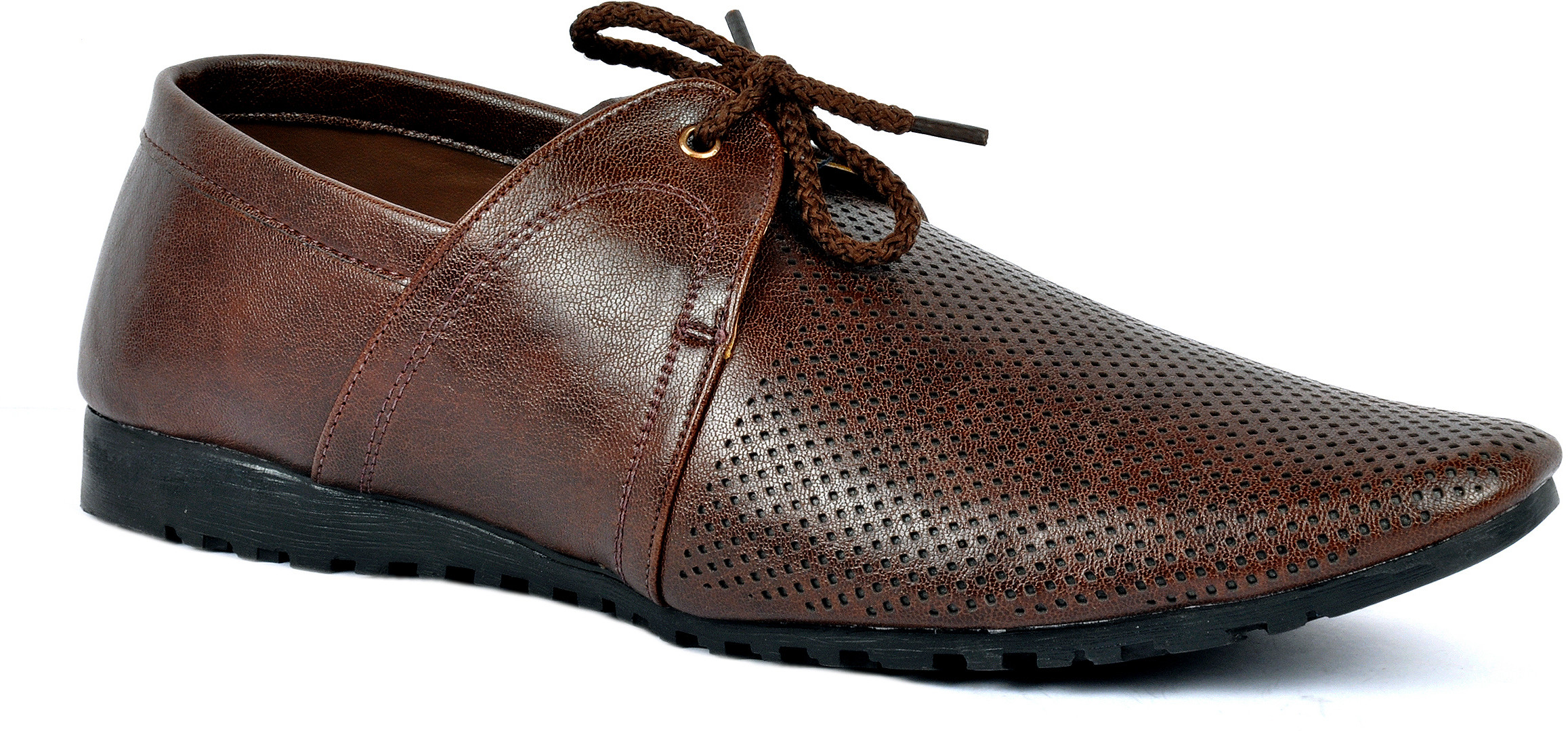 Footlodge Simple and Elegant Lace Up(Brown)