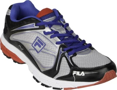 Fila Fly Running Shoes(Silver, Blue, Red)