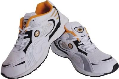 Lancer Lcr Jj-147 White & Yellow Running Shoes(White, Yellow)