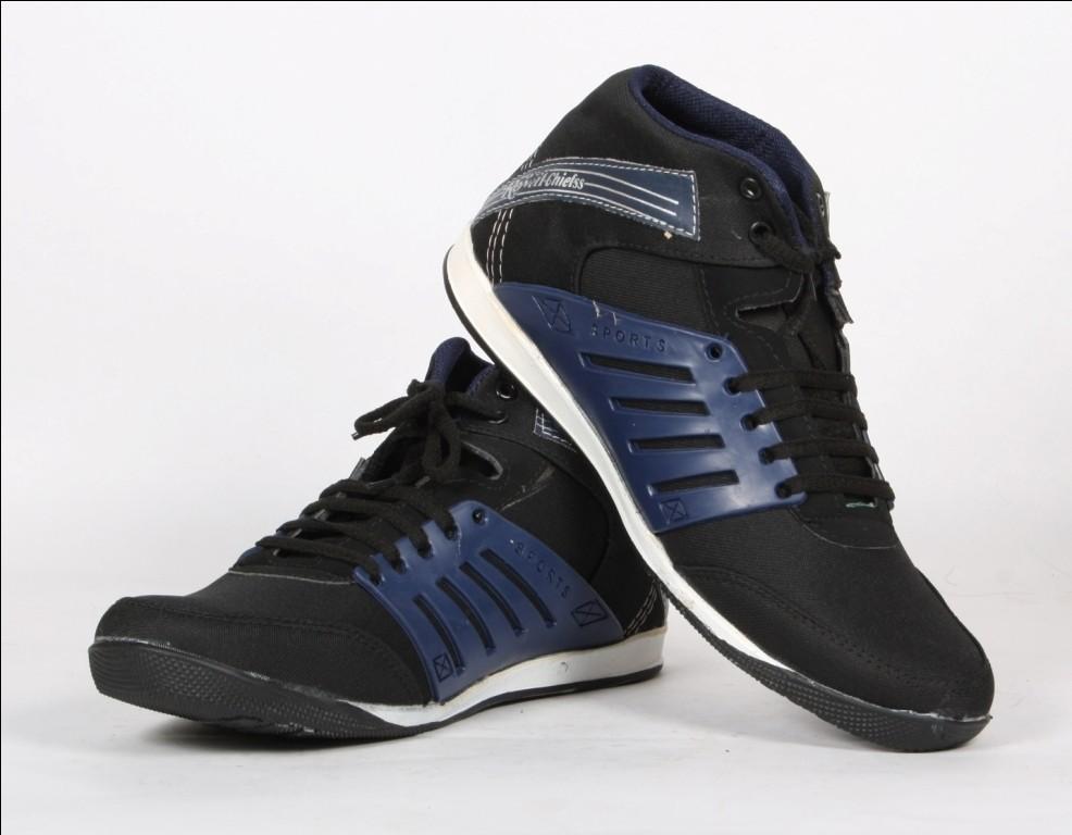 Nubon Greenchief-Blue Black Casual Shoes(Black)