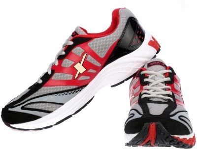 Sparx Running Shoes(Grey, Red)