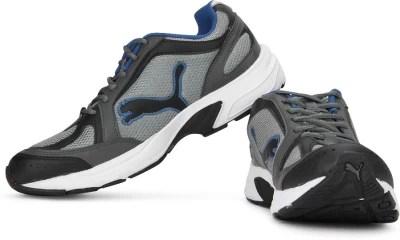 Puma Ceylon Running Shoes(Grey, Blue)