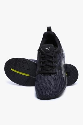 Puma Pulse Xt Men S Black-Puma Silver Training & Gym Shoes(Black)