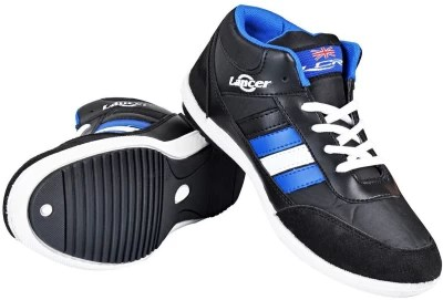 Lancer Running Shoes(Black, Blue)