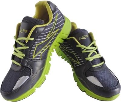 Lancer Lifestyle Running Shoes(Green, Black)