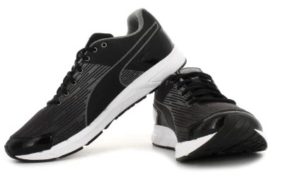 Puma Sequence Running Shoes(Grey, Brown, Black)