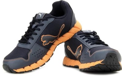 Puma Kevler Ind. Running Shoes(Navy, Orange)