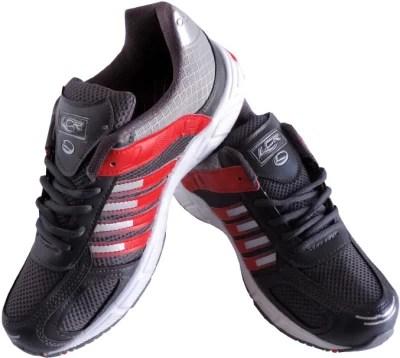 Lancer Cuba Grey & Red Sport Running Shoes(Grey)
