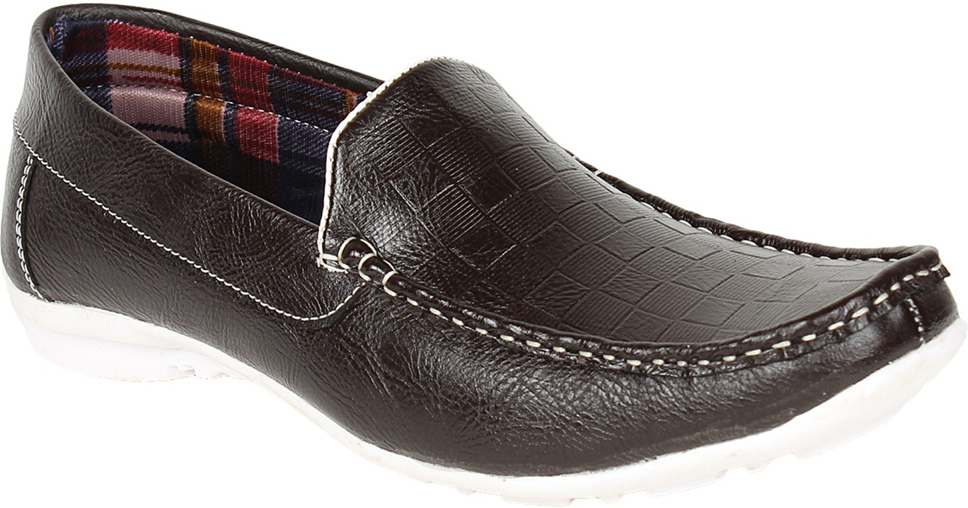 Histeria Stylistry Black Color Loafers(Black)