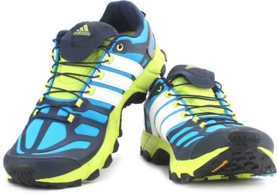 Adidas Adistar Raven 3 M Running Shoes(Blue, Green, Multicolor)