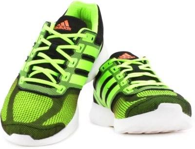 Adidas Men Running Shoes(Black, Green)
