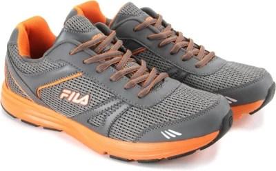Fila Running Shoes(Grey, Orange)