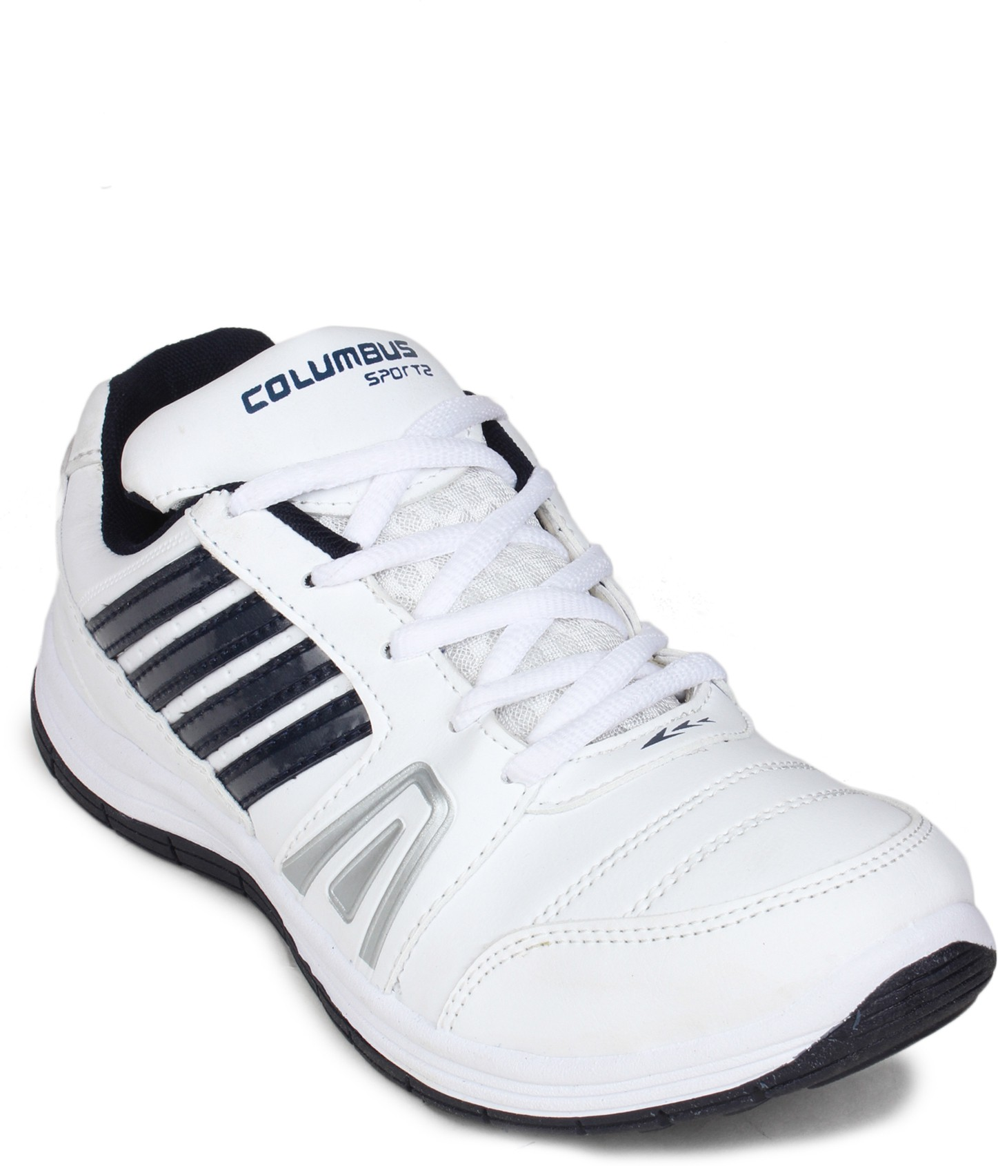 Columbus Running Shoes(White, Navy)