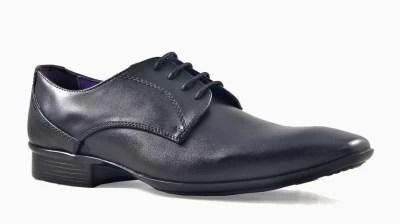 Knotty Derby Arthur Derby Lace Up Shoes(Black)