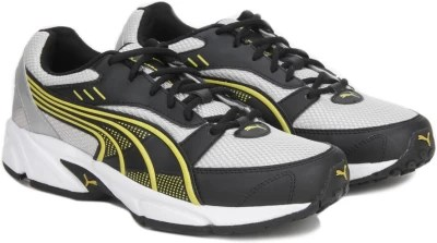 Puma Atom DP Running Shoes(Black, Silver)