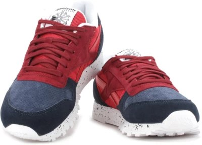 Reebok Men Running Shoes(Maroon, Navy, Red)