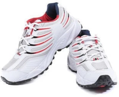 Sparx Running Shoes(White, Red)