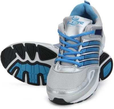 Lancer Running Shoes(Silver, Blue)